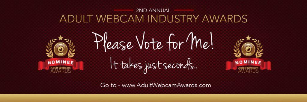 I have been nominate as best adult webcam performer